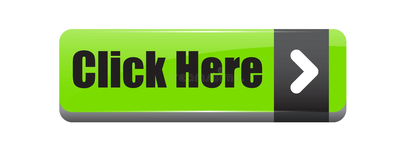 Clique aqui o verde do botão ilustração stock