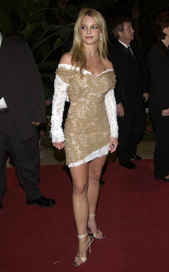 Clive Davis, vedette de pop, Britney Spears photographie stock libre de droits