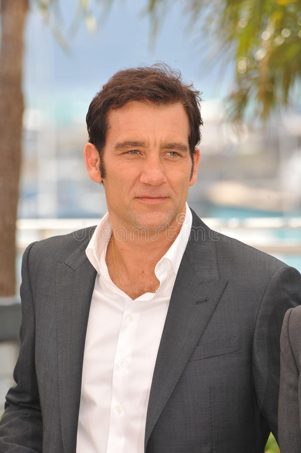 Clive Owen fotografia de stock royalty free