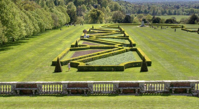 Cliveden Garden England Stock Photo