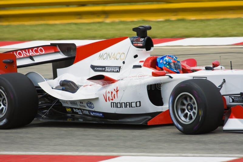 Clivio Piccione (equipe Monaco) fotografia de stock