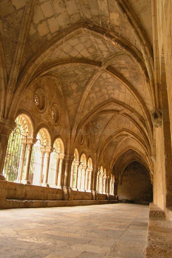 Cloître à Tarragona (Espagne) Photo libre de droits