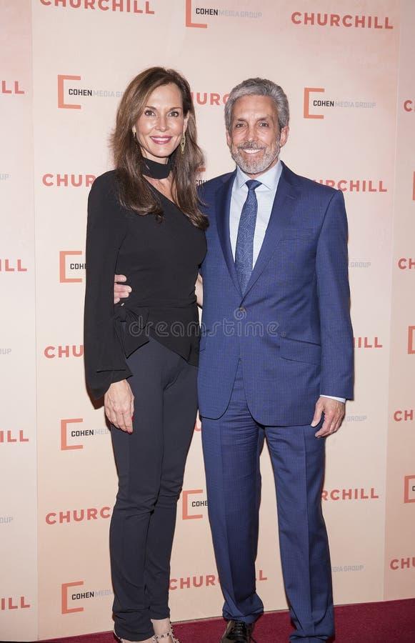 Clo Cohen и Чарльз Cohen стоковые фотографии rf