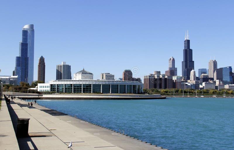 Cloche Aquirum, Chicago photo libre de droits