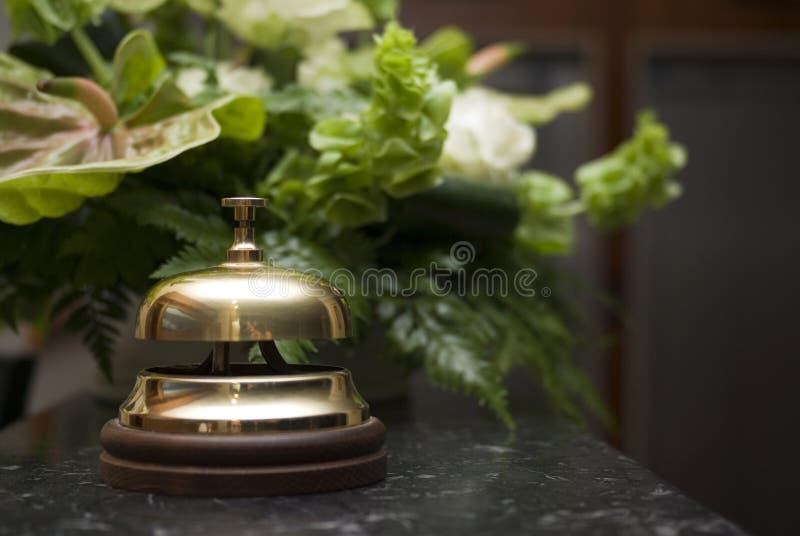 Cloche d'hôtel photographie stock libre de droits