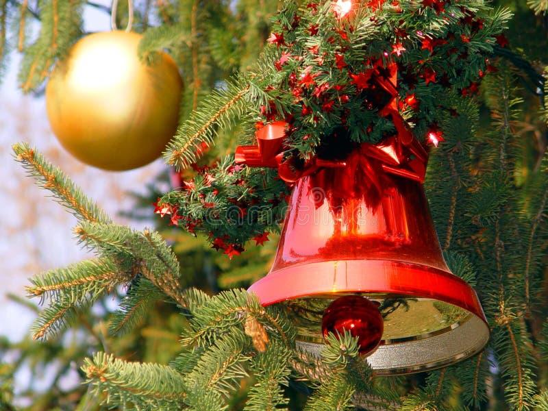 Cloche de Noël photographie stock libre de droits