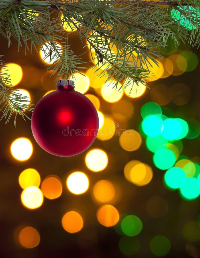Cloche de Noël image stock