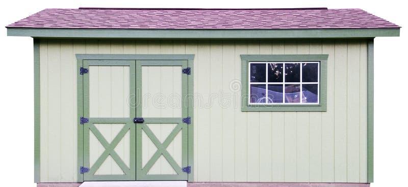 Cloche en bois de mémoire d'arrière-cour, d'isolement sur le blanc photos libres de droits