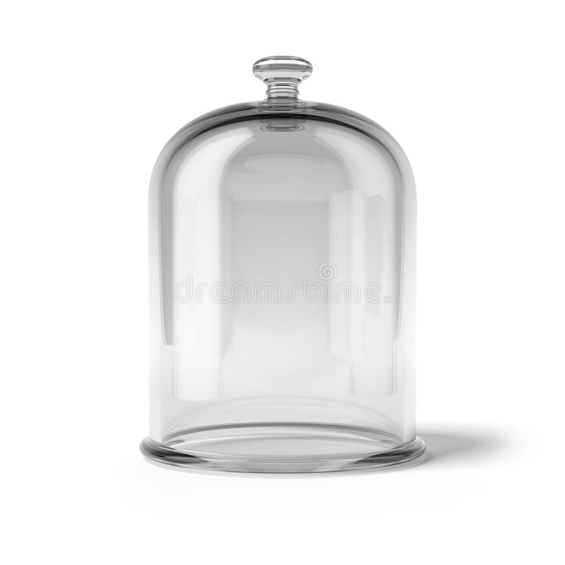 Cloche en verre illustration de vecteur