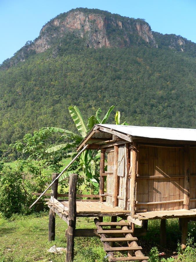 Cloche thaïe primitive de Hilltribe images stock