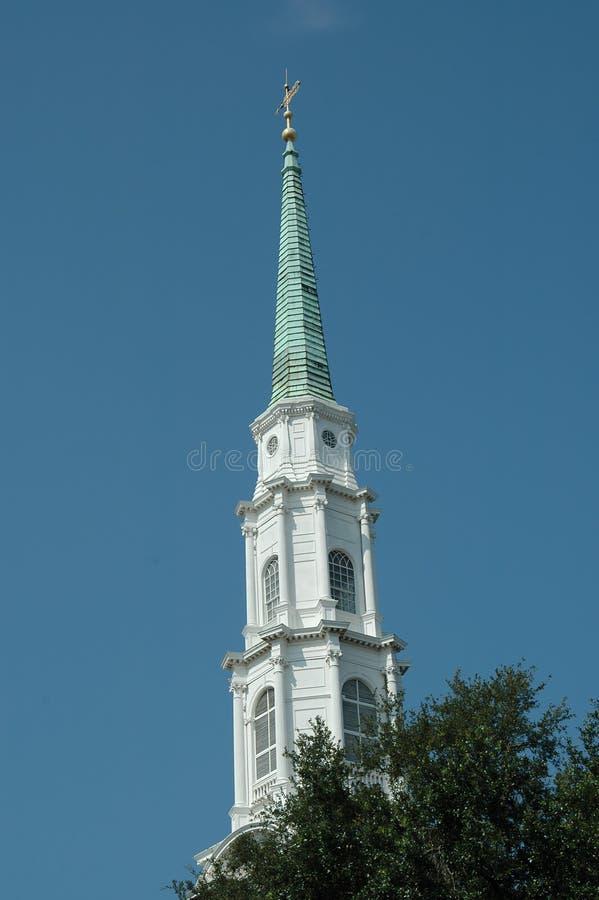 Clocher d'église image stock