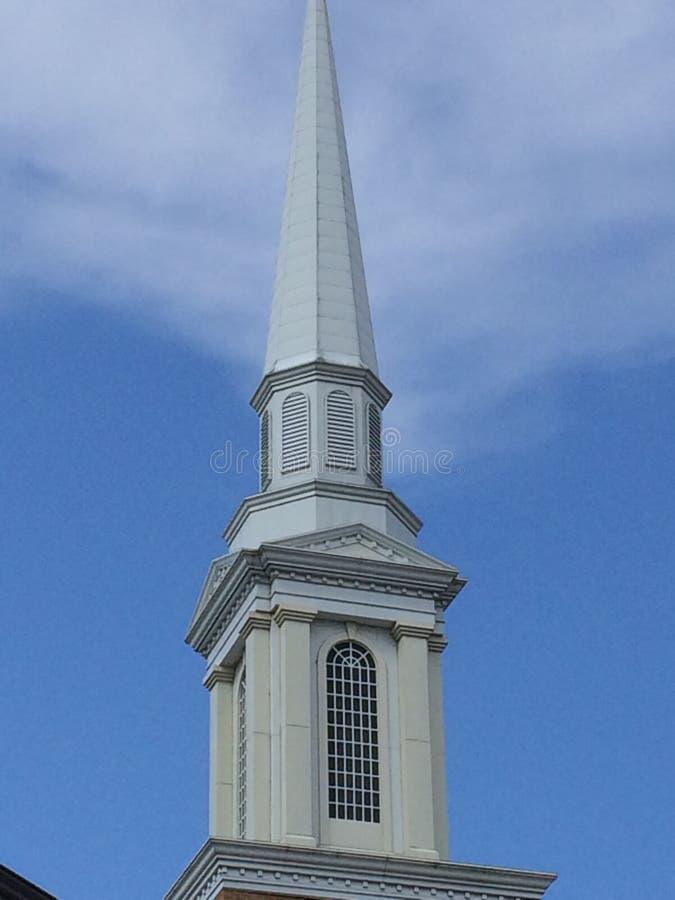 Clocher d'église images libres de droits