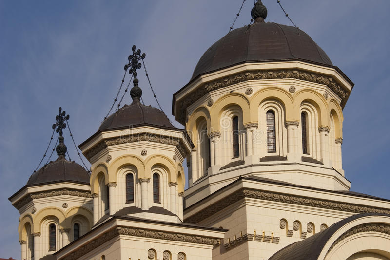 Clocher d'église orthodoxe images libres de droits