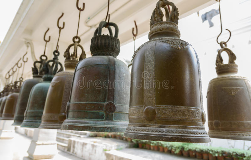 cloches photographie stock