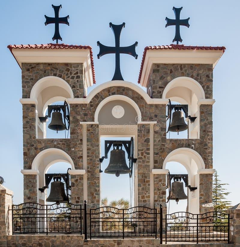 Cloches d'église photos stock