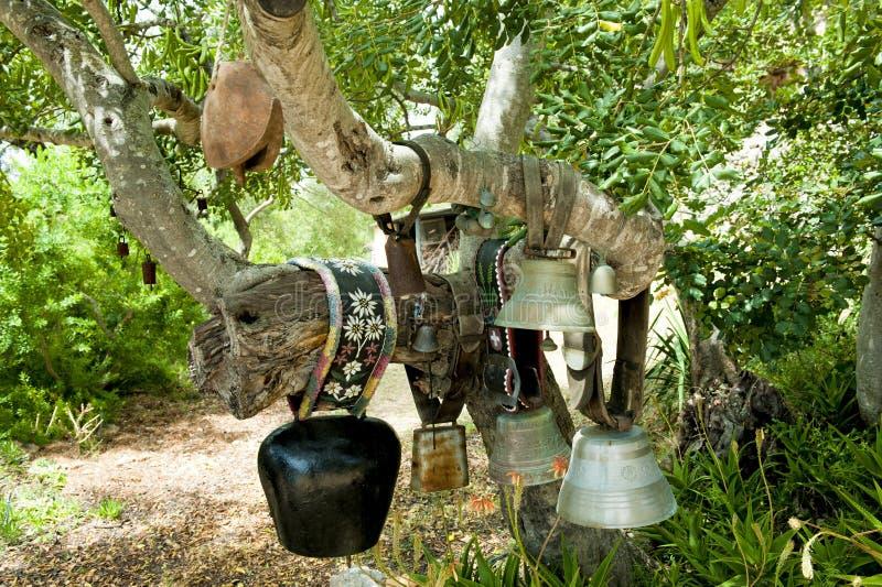 Cloches de vache photographie stock