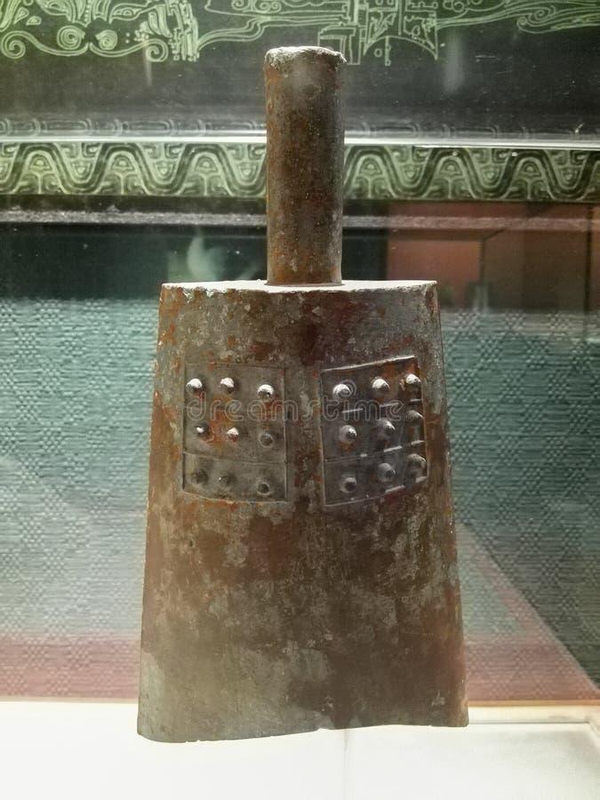 Cloches en bronze de carillon images stock