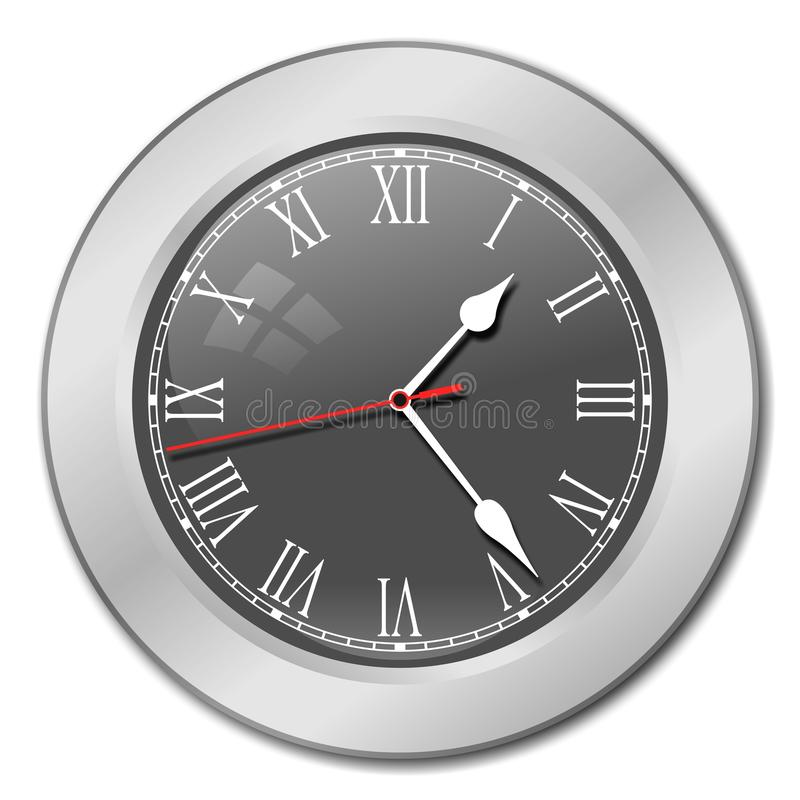 Clock Face Stock Vector Illustration Of Watch Isolated
