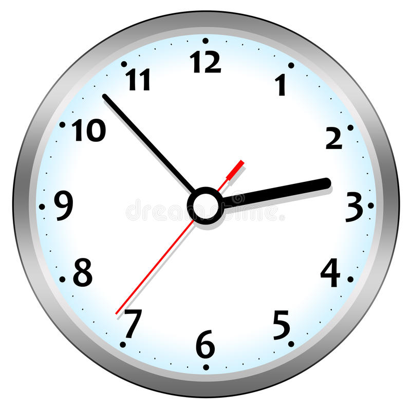 Download Clock stock illustration. Image of appointment, clockwise - 20969994