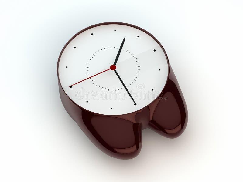 Download Clock stock illustration. Illustration of time, moment - 22714885