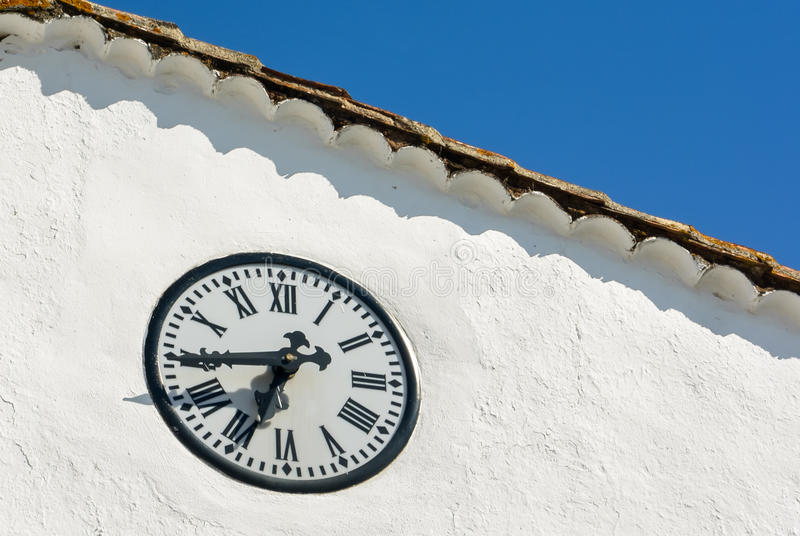 Download Clock stock photo. Image of late, early, blue, town, white - 27222544