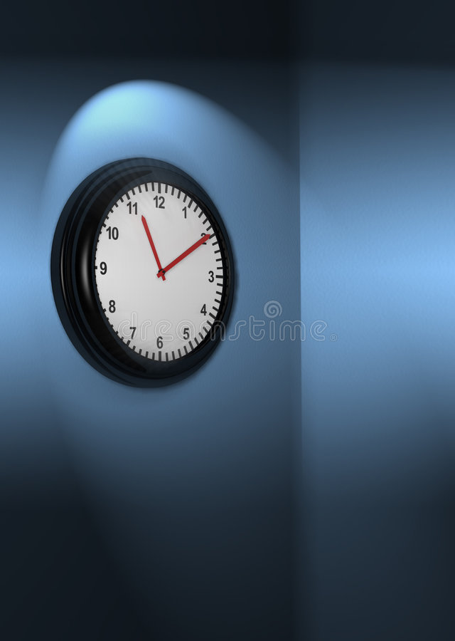 Download Clock stock illustration. Image of deadline, close, accuracy - 388418
