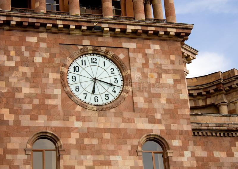 Download Clock stock photo. Image of built, architecture, glass - 9371494