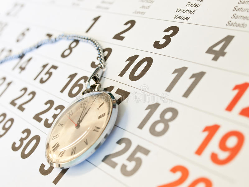 Download Clock and  calendar stock image. Image of empty, meeting - 10742649
