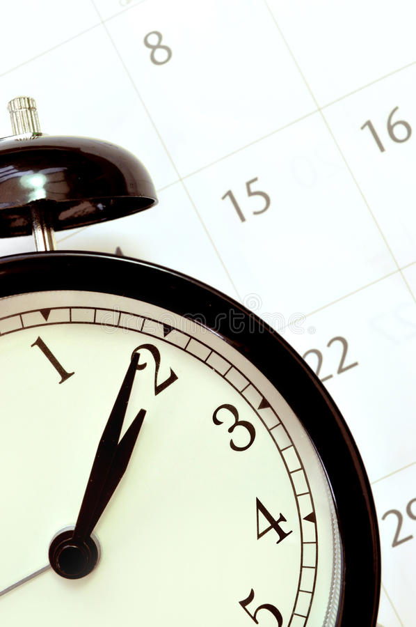 Download Clock and calendar stock photo. Image of second, bell - 21816022