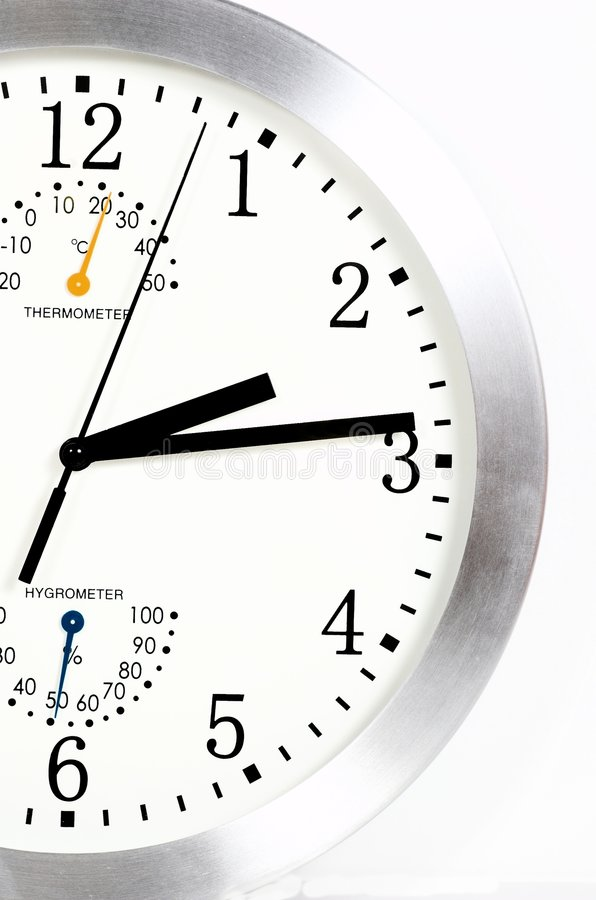 Download Clock close-up stock image. Image of number, close, pointer - 5033215