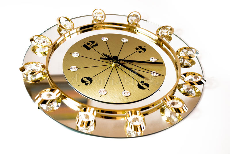 Download Clock With Crystals Stock Photography - Image: 11403762