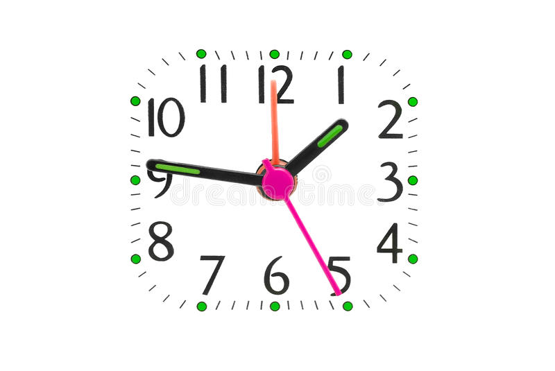Download Clock dial stock image. Image of modern, hour, isolated - 29498331