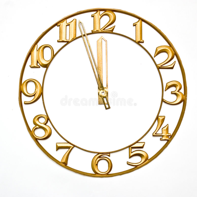 Clock-face stock photo  Image of font, brass, metal, time - 3634808