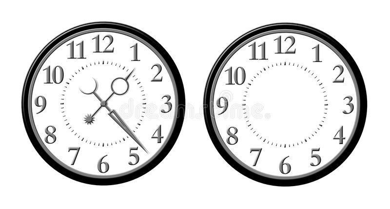 Download Clock Face stock illustration. Image of clock, minute - 5135337