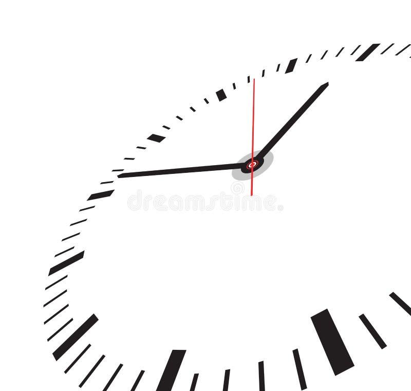 Clock face royalty free illustration