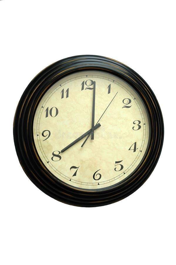 Clock Gammalt Royaltyfria Bilder