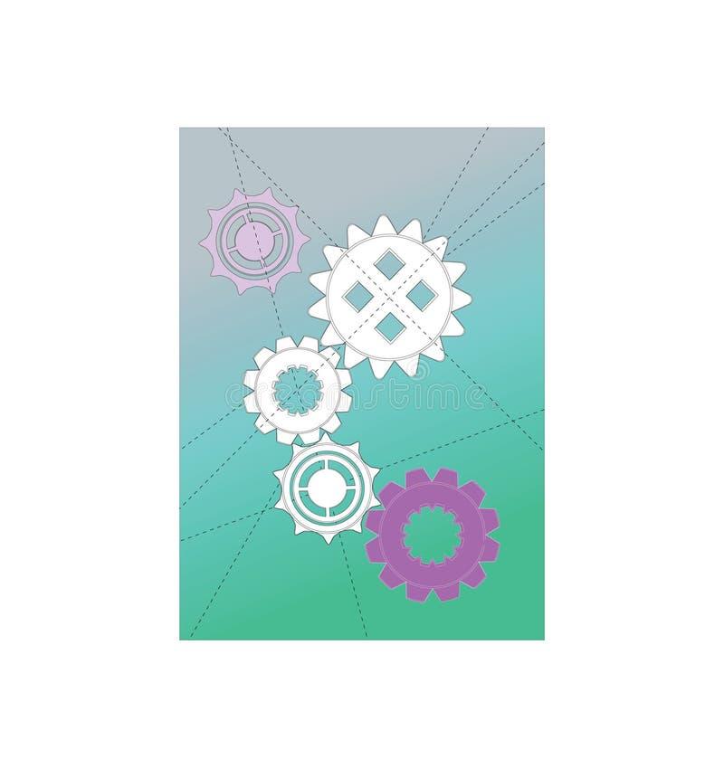 Clock Gears Stock Image