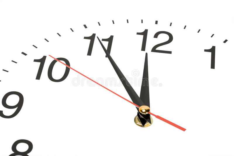 Download Clock hands stock photo. Image of hour, plan, holding - 23452252