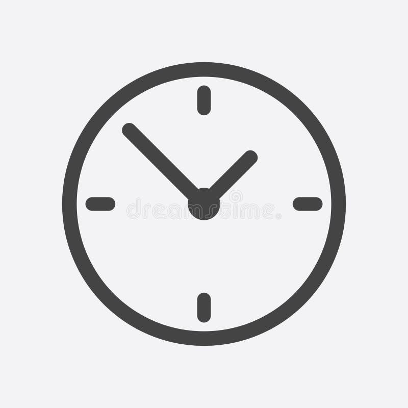 clock icon flat design vector illustration on white background rh dreamstime com sand clock icon vector clock icon white vector