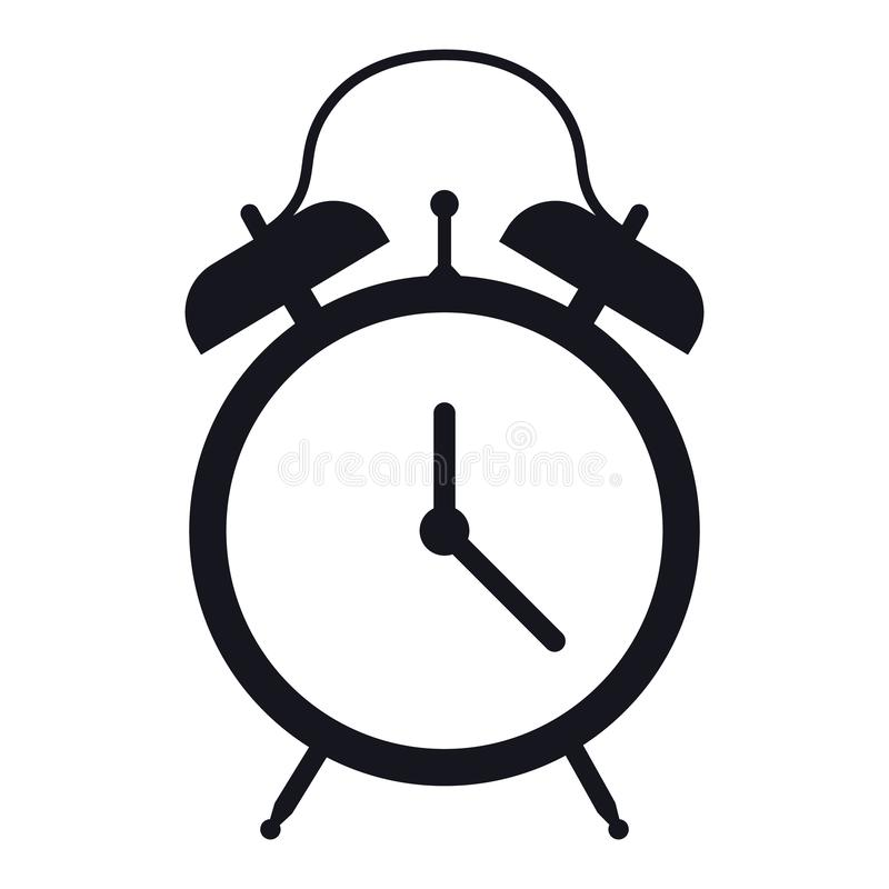 Clock icon in trendy flat style isolated on white background. Symbol for your web site design, logo, app, UI. Vector illustration. EPS vector illustration icon stock illustration