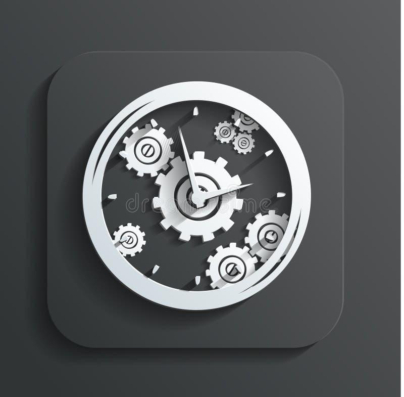 Clock Icon Vector Stock Photos
