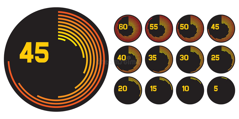 Download Clock icons stock image. Image of finishing, speed, awaken - 29017061