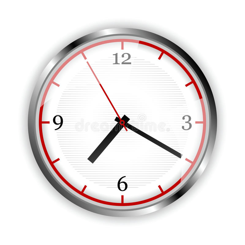 Download Clock Illustration Stock Photo - Image: 13876590