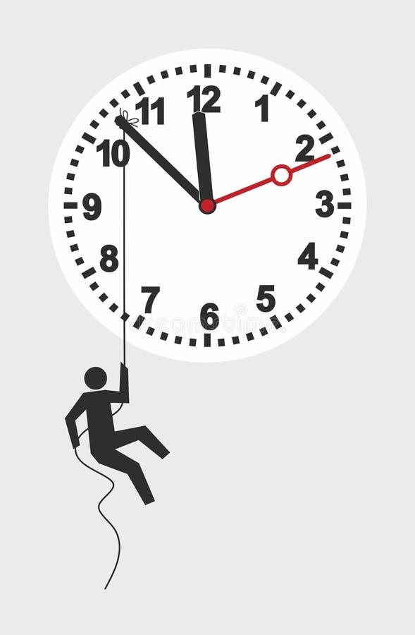 Download Clock stock illustration. Illustration of clock, delay - 39181389