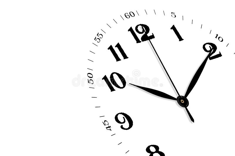 Download Clock Isolated, Time Concept Stock Image - Image: 10186581