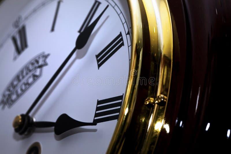 Download Clock Macro Detailed stock image. Image of deadline, closeup - 90373659