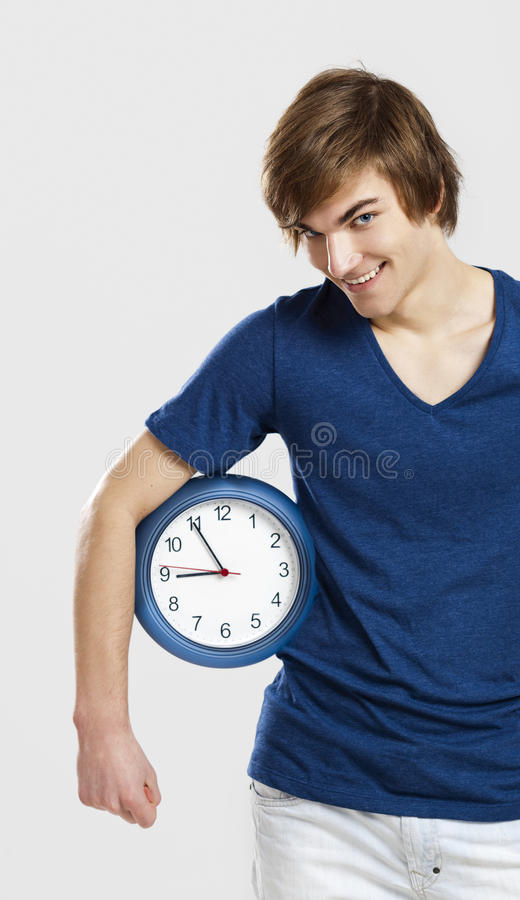 Download Clock Man Royalty Free Stock Photography - Image: 23951747
