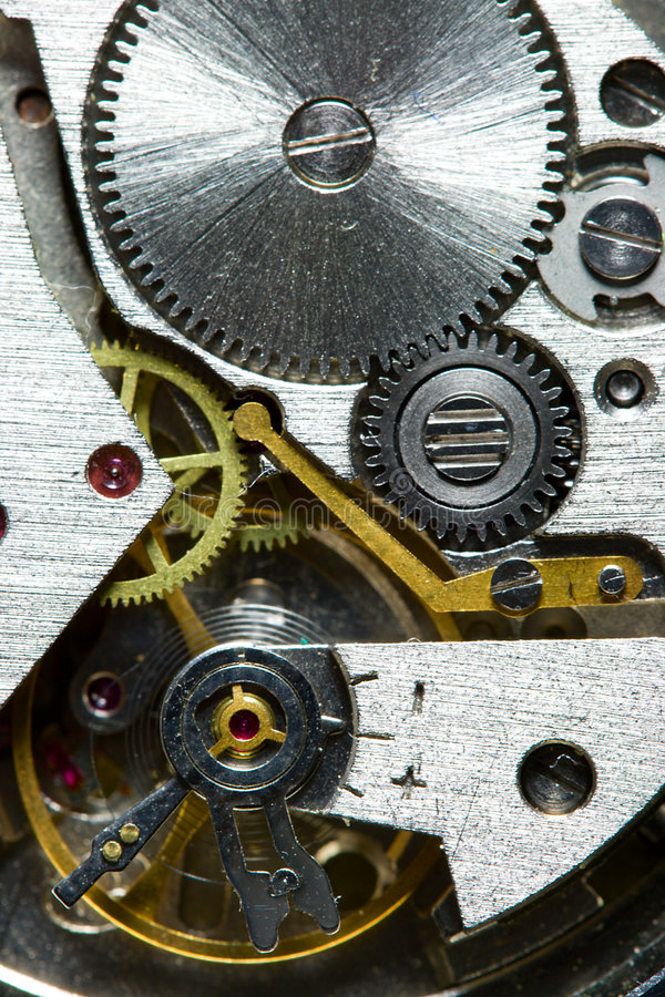 Download Clock mechanism stock image. Image of stone, instant, engineering - 5390987