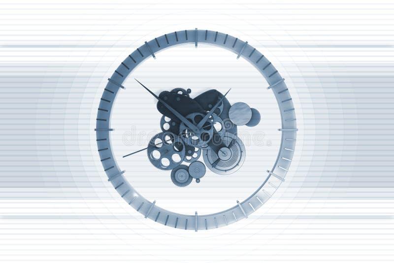 Download Clock Mechanism stock illustration. Image of stripes, round - 6413851