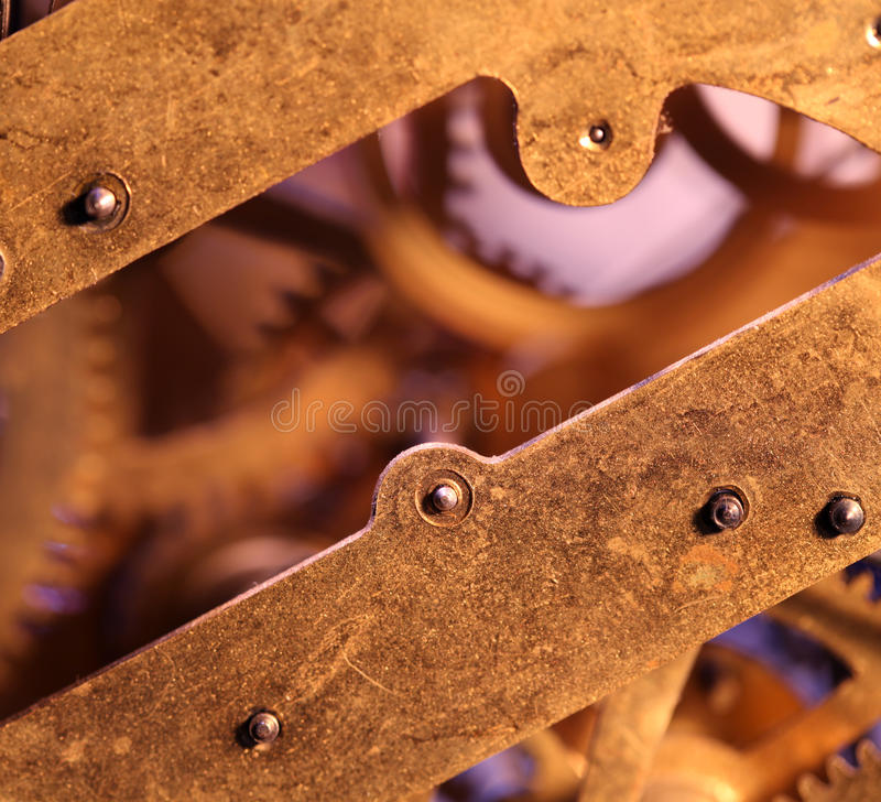 Download Clock mechanism stock photo. Image of nostalgia, retro - 39511664